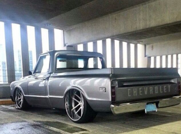 C10 Deep Dish Wheels Trucks Chevy Trucks Truck Yeah