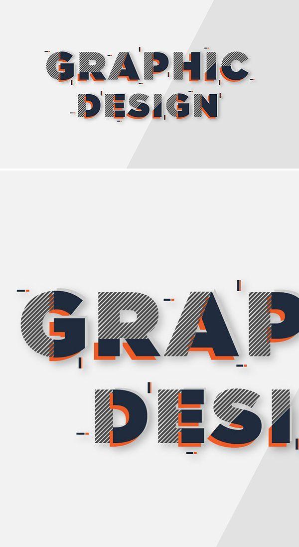 Tutorial zum Eingeben von Gesichtstext-Effekten in Adobe Illustrator - #Adobe #Eingeben #GesichtstextEffekten #Illustrator #Tutorial #von #zum #graphicdesign