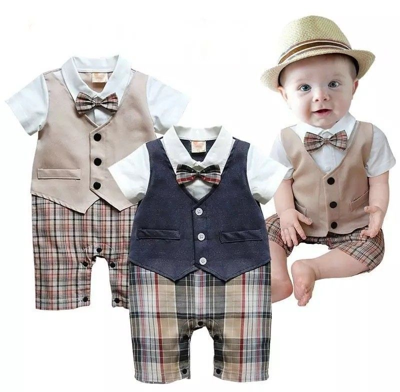 Gentleman Baby Rompers Newborn baby boy clothes, baby boy outfits ...