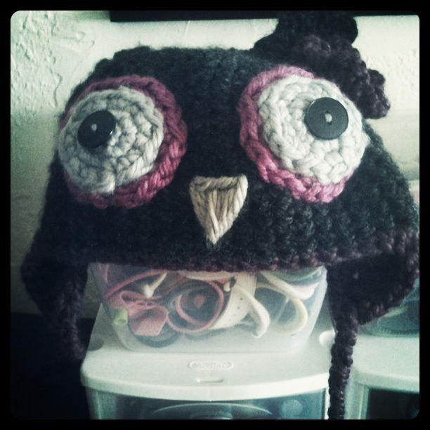 My hat.  By Kelli.  Love.