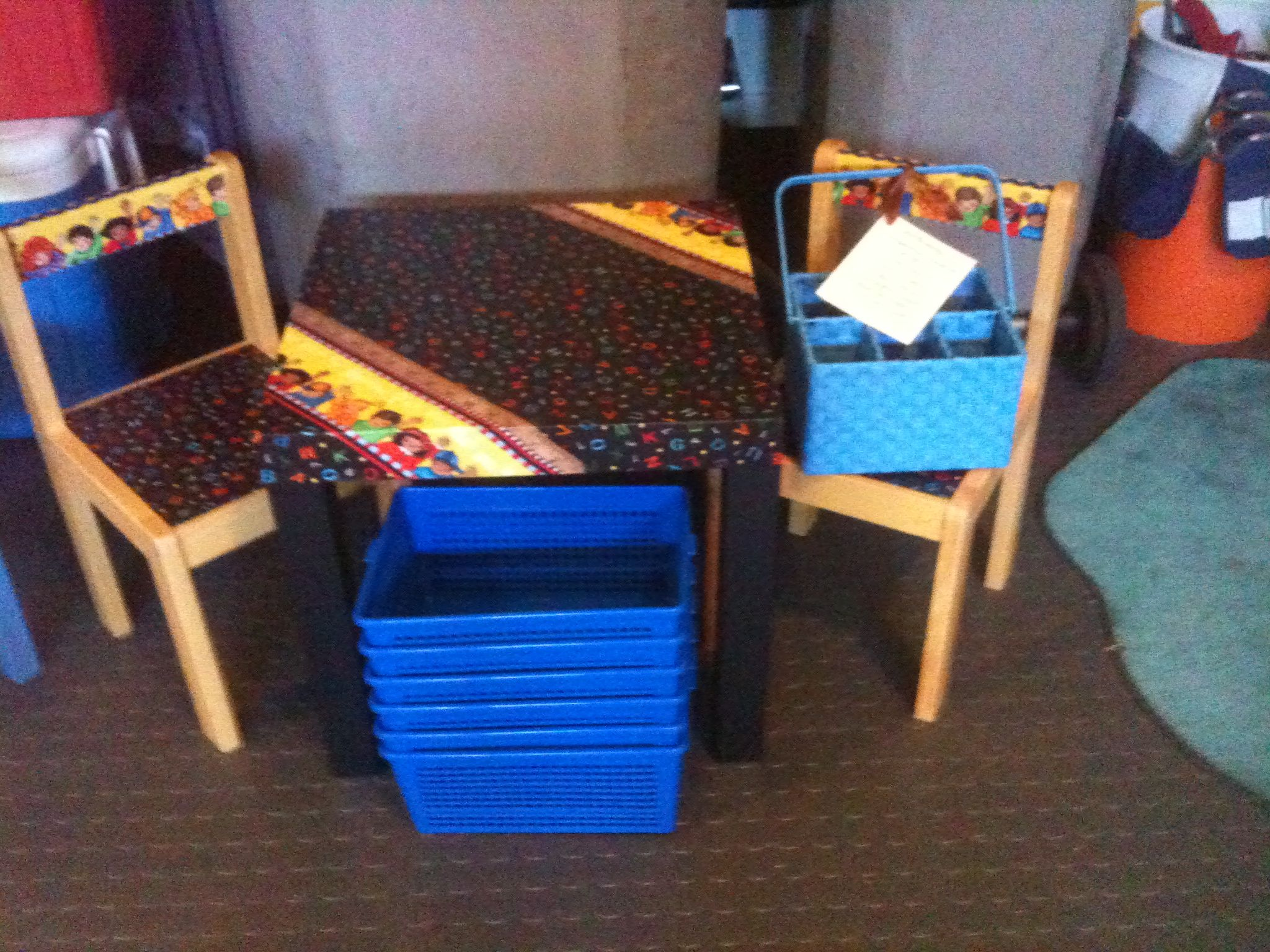 folding chair upcycle covers for hire perth upcycled ikea chairs and table furniture kids