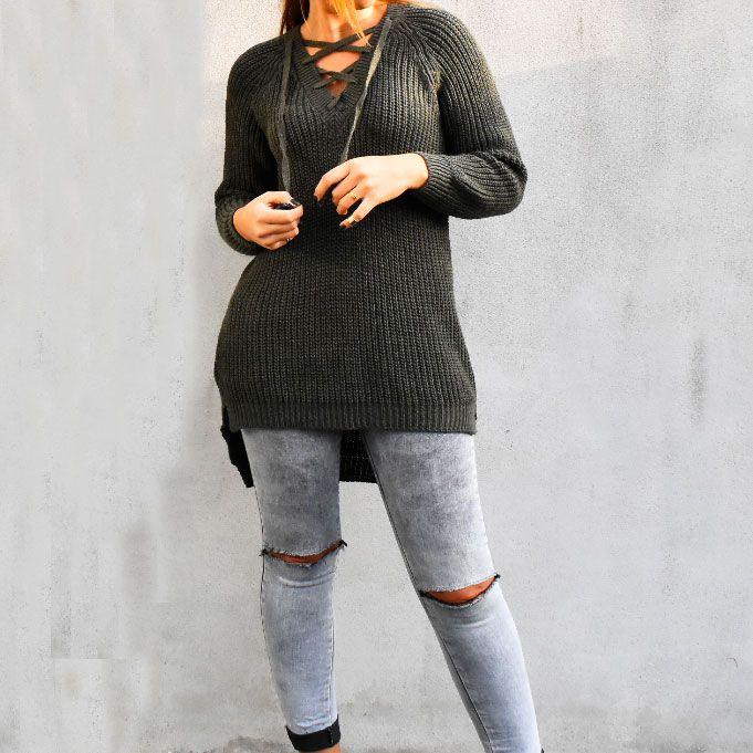 #green #khaki #jeans #rippedjeans #knitwear #fashionblog #fashionblogger #blog #blogger