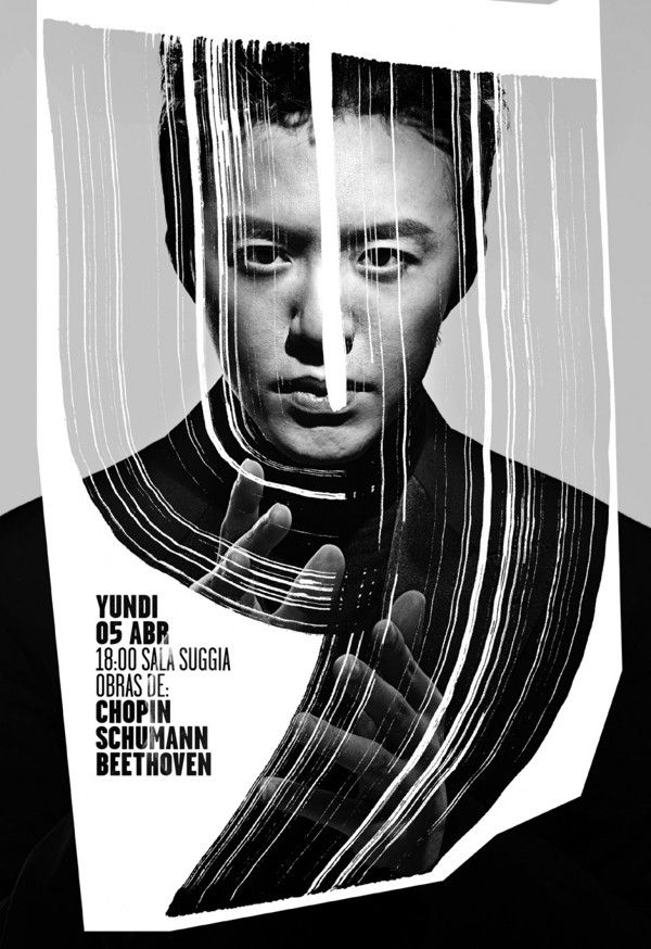 Cool Graphic Design on the Internet, Yundi. #graphicdesign #poster @ http://www.pinterest.com/alfredchong/graphic-design/