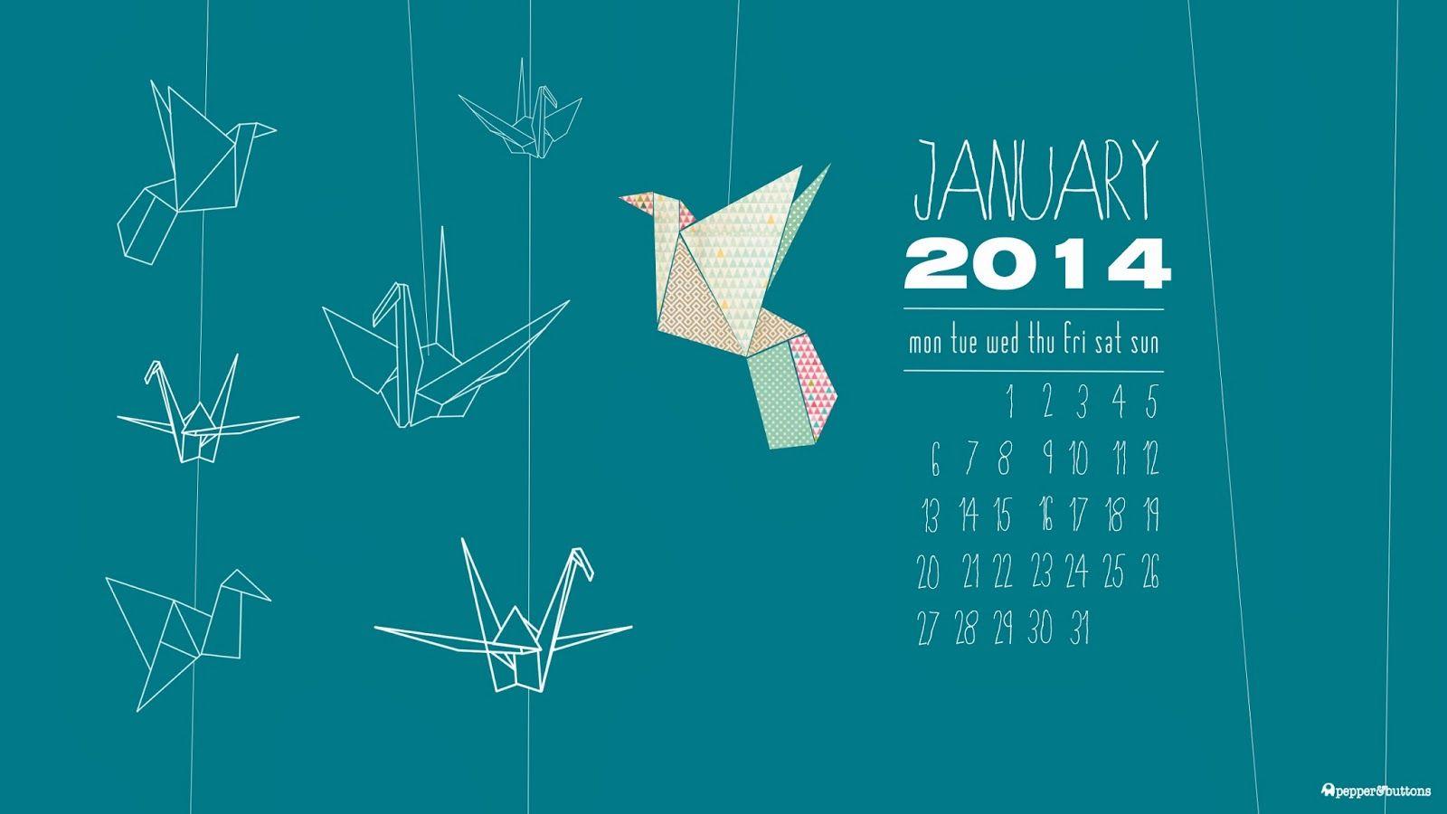 Desktop Wallpaper January