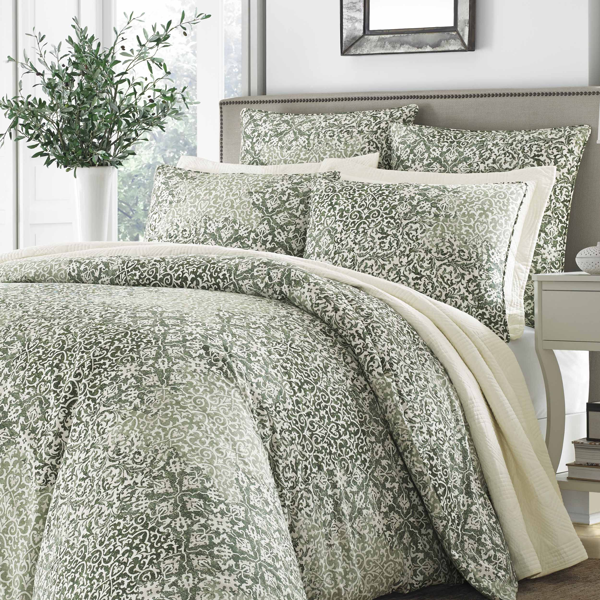 cottage com conrad stone ip set comforter queen bedding full walmart
