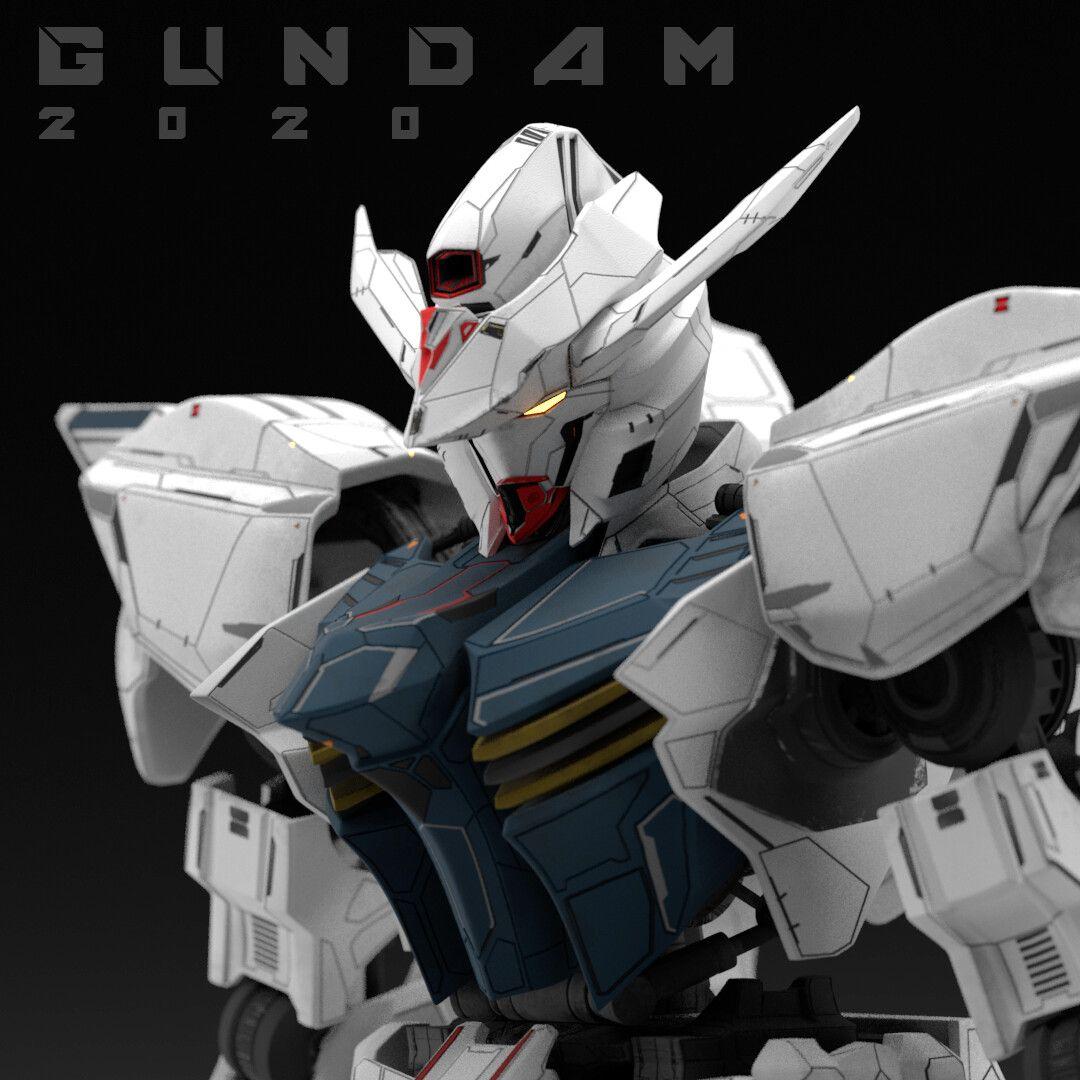ArtStation Gundam 2020 Live action, Birmel Guerrero