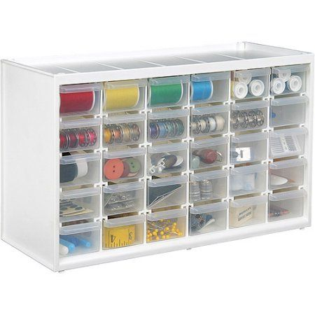 ArtBin Store-In-Drawer Cabinet, 30 Art and Craft Supply Storage Drawers, 6830PC - Walmart.com