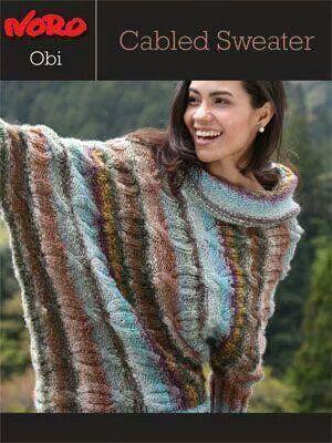 Free Noro Pattern Knitting Pinterest Patterns Knit Shawls And