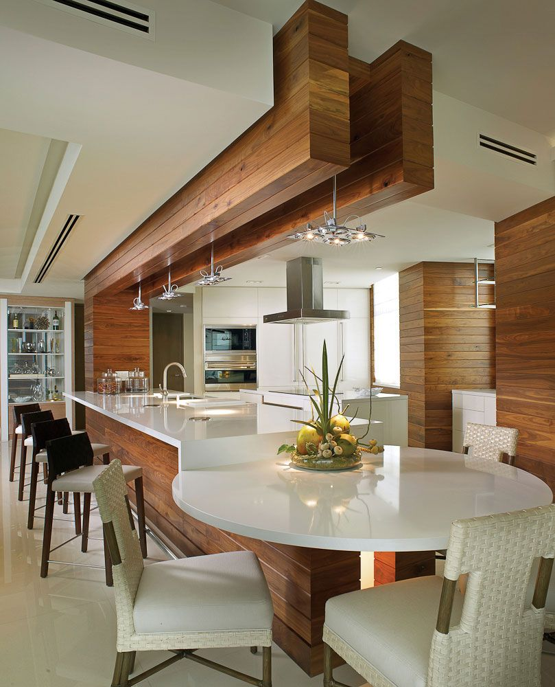 Kitchen Layout No Island: Contemporary Interior Design In South Florida In 2019