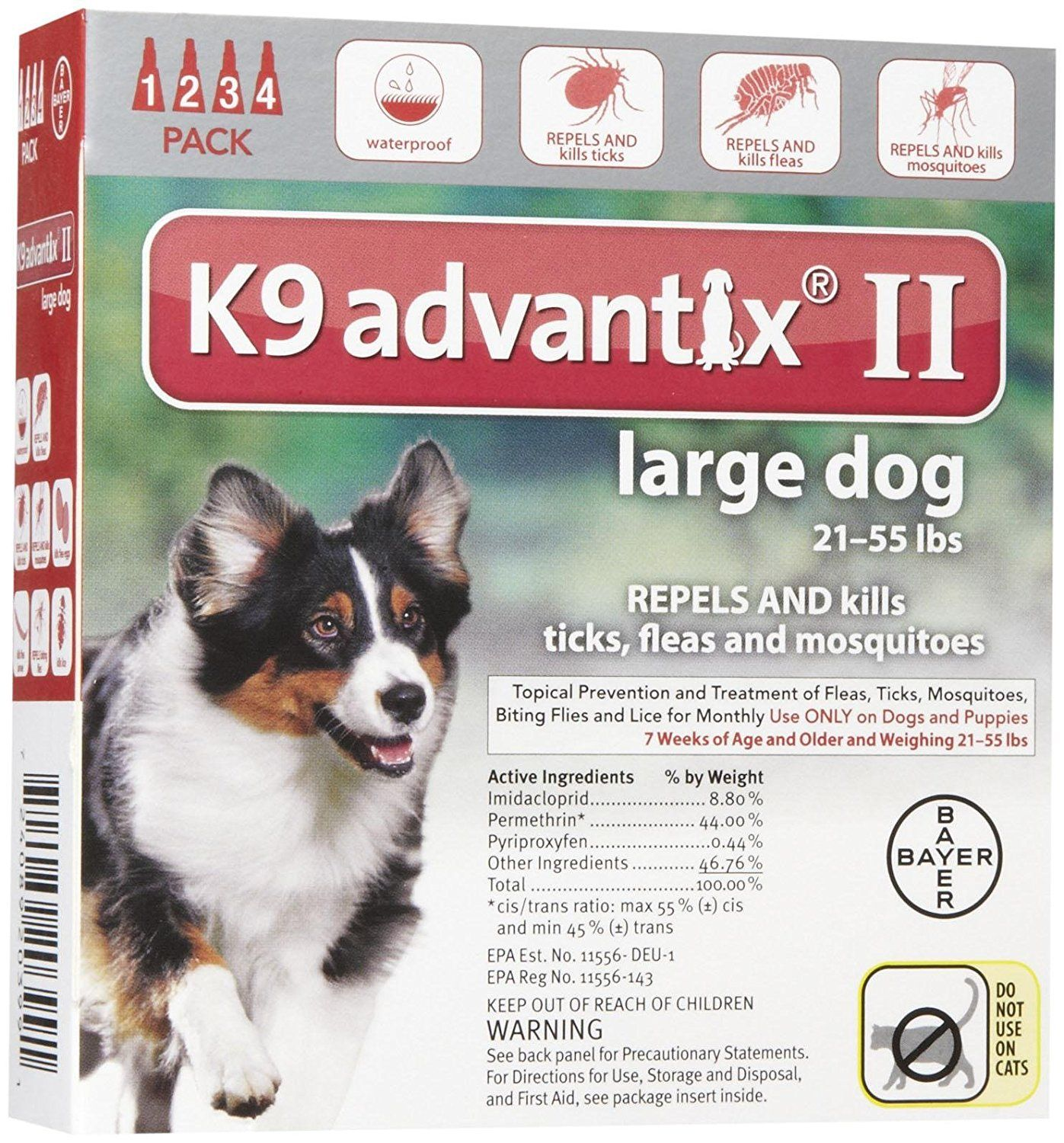 K9 Advantix Ii Large Dog 4 Pack Stop Everything And Read More Details Here Flea And Tick Control Kill Fleas On Dogs Small Dogs Fleas