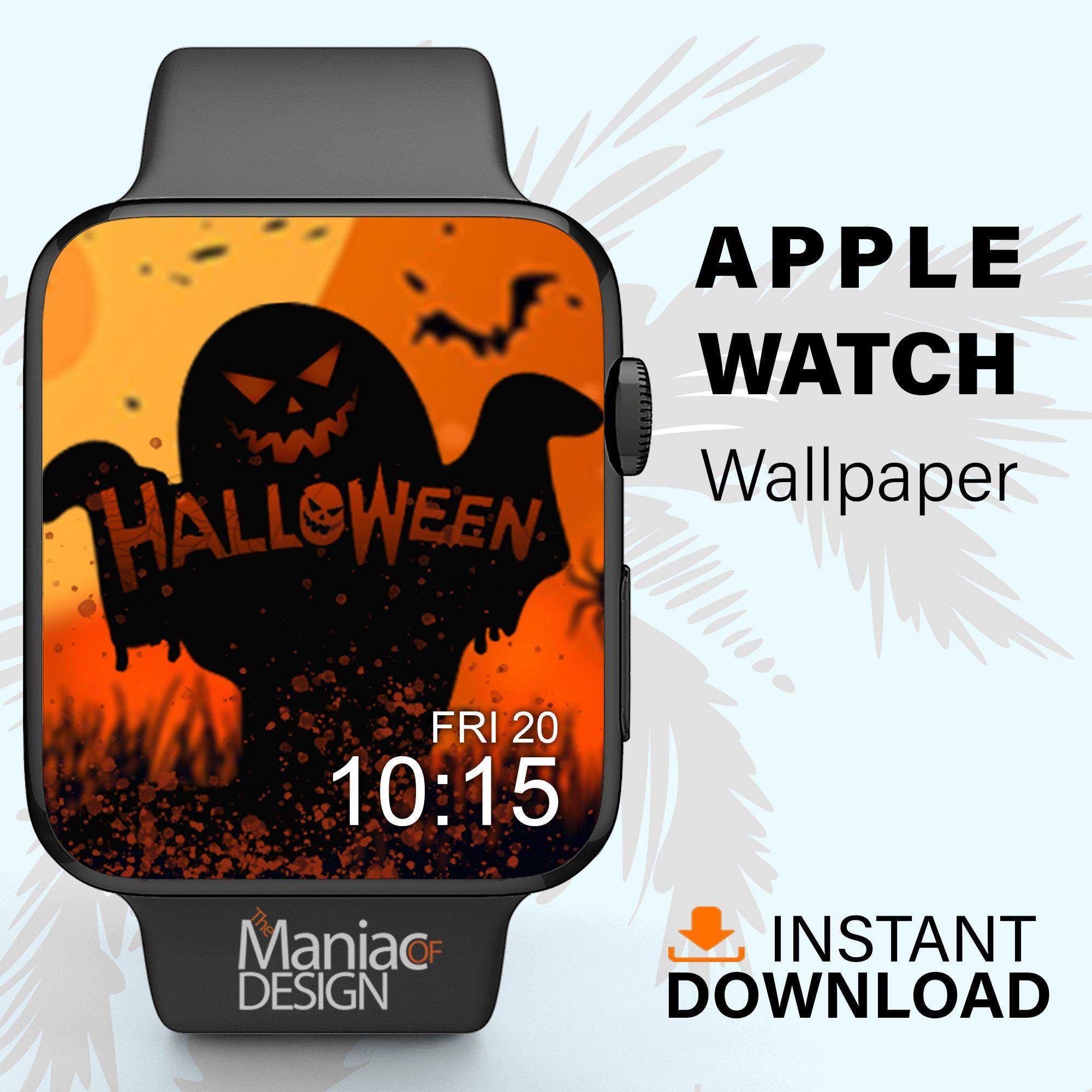 Apple Watch Wallpaper Spooky Halloween ...