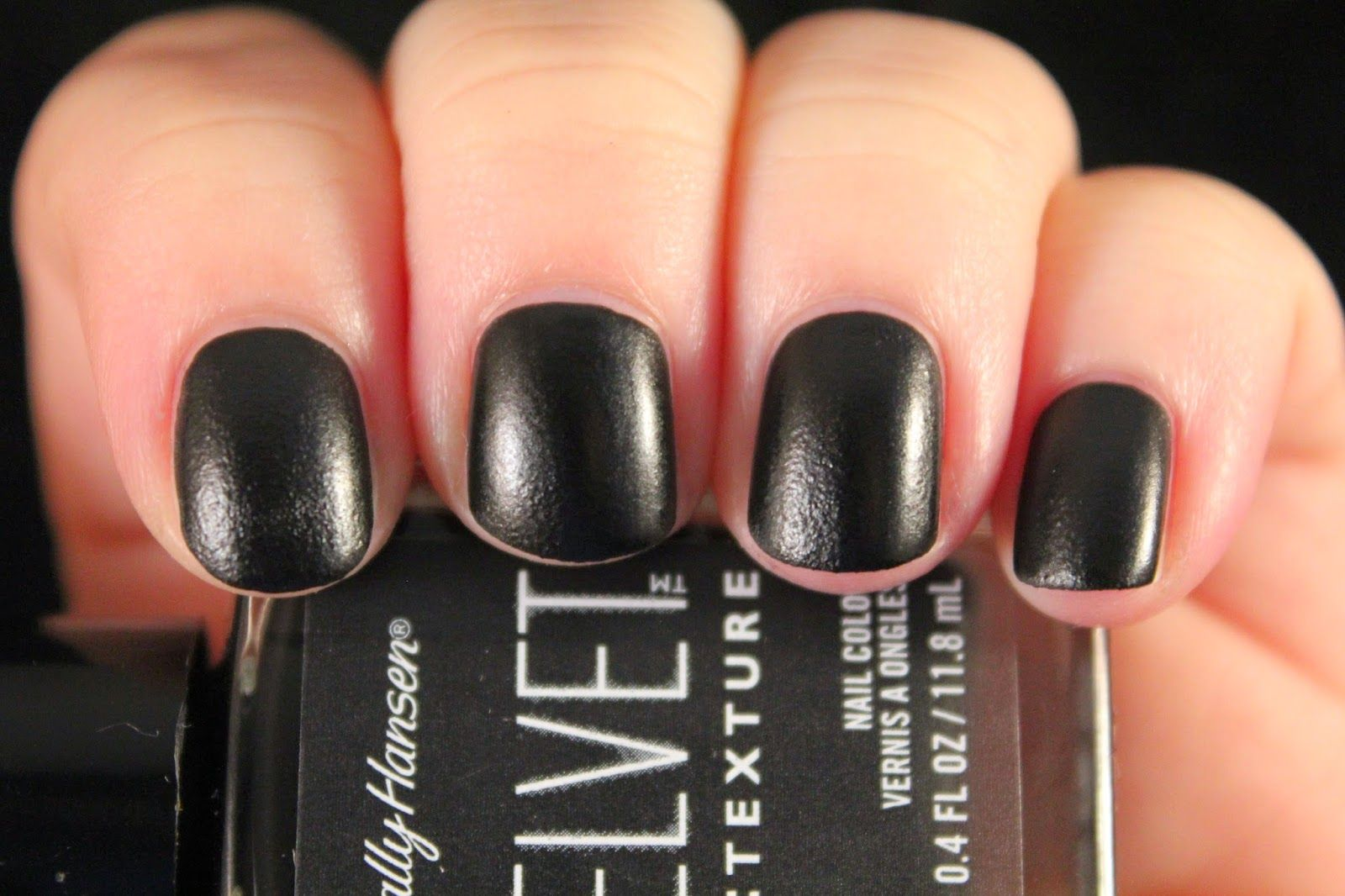 Glimpses of the Moon - Sally Hansen Velvet Texture nail polish in Velveteen.