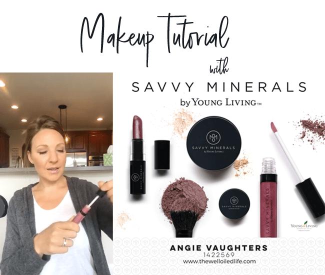 Savvy Minerals Makeup Tutorial! Savvy minerals, Young