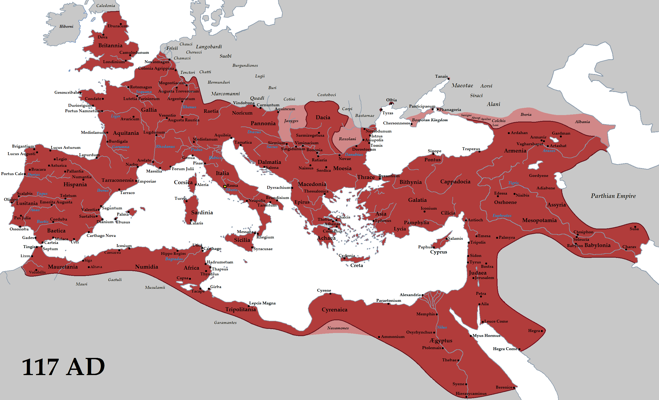 Roman Empire Trajan AD Roman Empire Wikipedia The Free - World's most powerful countries wiki