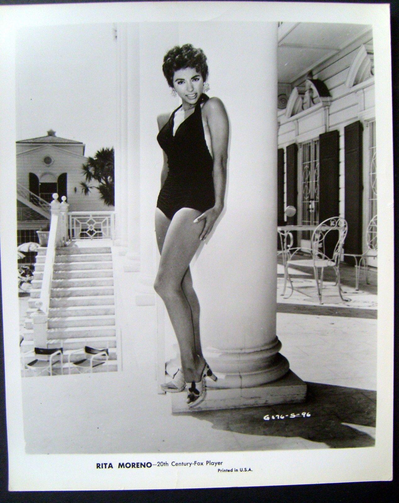 Rita Moreno Original Vintage Rare Pin Up Sexy Publicity Photo