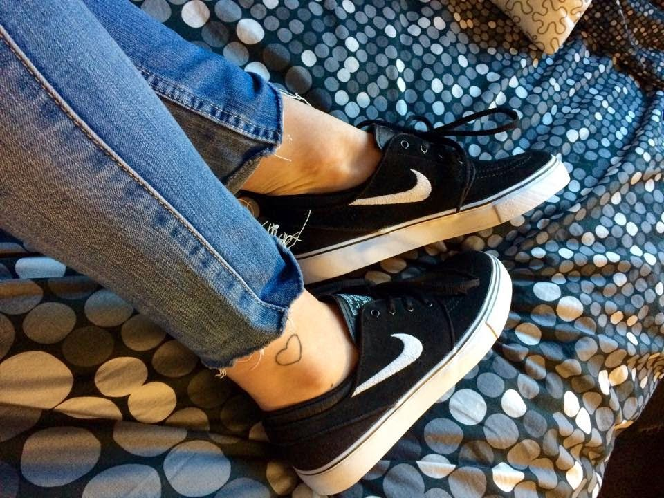 s/o to Frankee for the awesome pic of her brand new Janoskis ♥