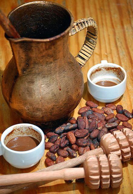 how to make chocolate drink using tablea