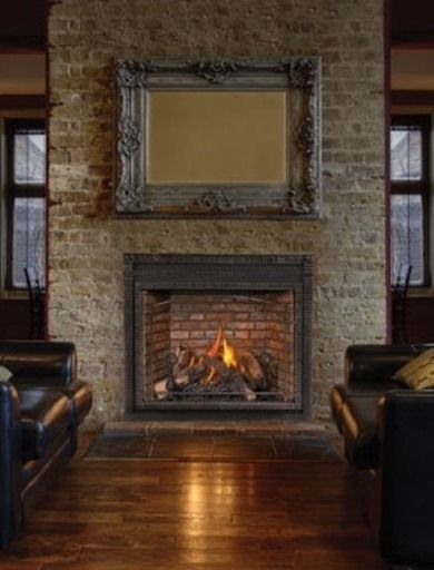 Traditional  Gas Fireplaces A Showcase of Design and Innovation  Bob Vila  remodel  Gas