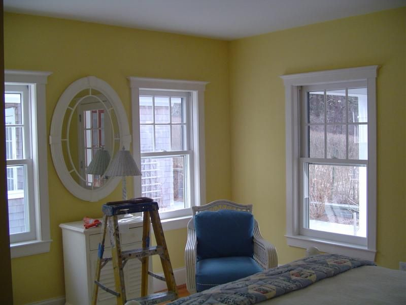 Muted Yellow Paint Color