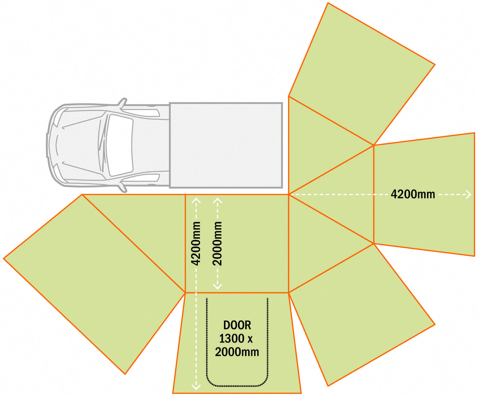 Rhino Rack Sunseeker Awning Roof Rack Mount Bolt On 55 Sq Ft Rhino Rack Car Awning Rr32133 In 2020 Car Awnings Awning Roof Rack