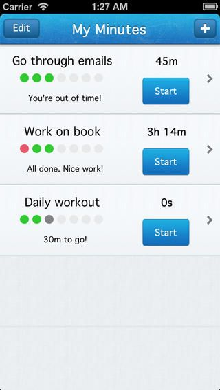 my minutes simple personal time task tracker by variance srl