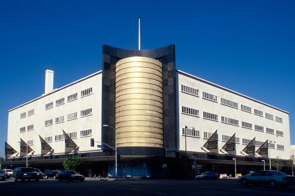 Los Angeles County Museum of Art's Art Deco building at Wilshire Boulevard and Fairfax Avenue will house the Academy Museum of Motion Pictures to open 2016.