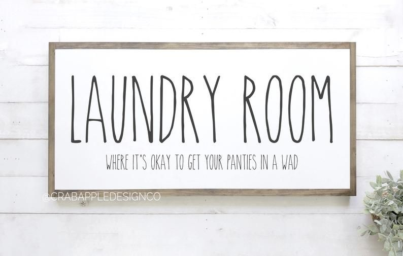 Laundry Room Sign Funny Laundry Signs Laundry Room Decor Laundry Wood Sign Farmhouse Laundry Room Quote Wood Signs In 2020 Laundry Room Signs Laundry Signs Farmhouse Laundry Room