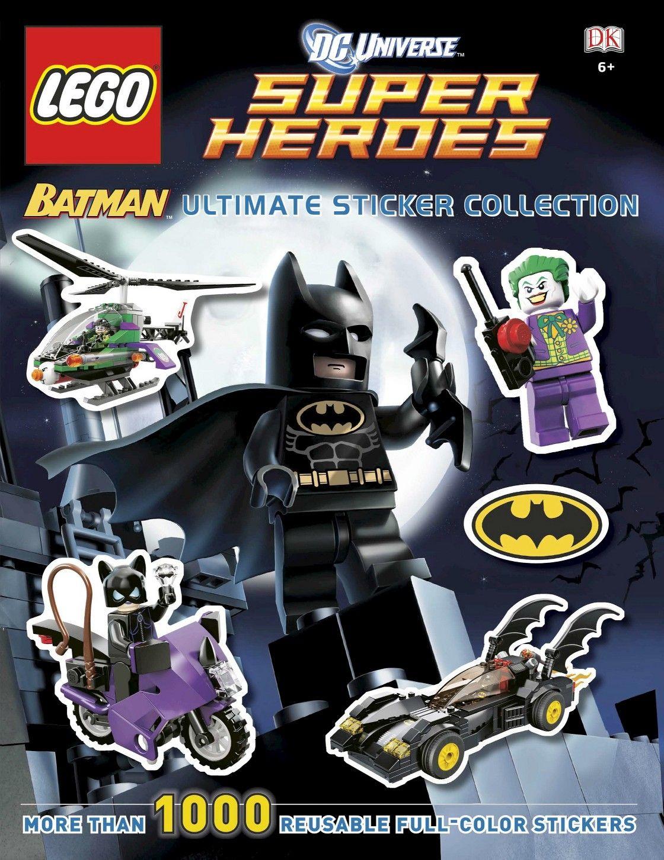 ultimate sticker collection lego batman lego dc universe super