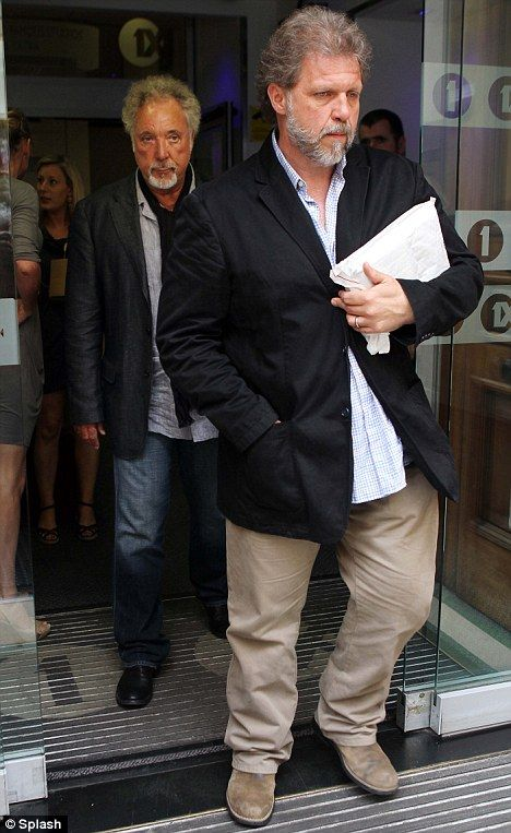 Tom Jones, 70, finally looks as old as his 53-year-old son as he