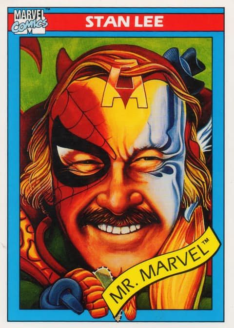 Image result for stan lee trading card