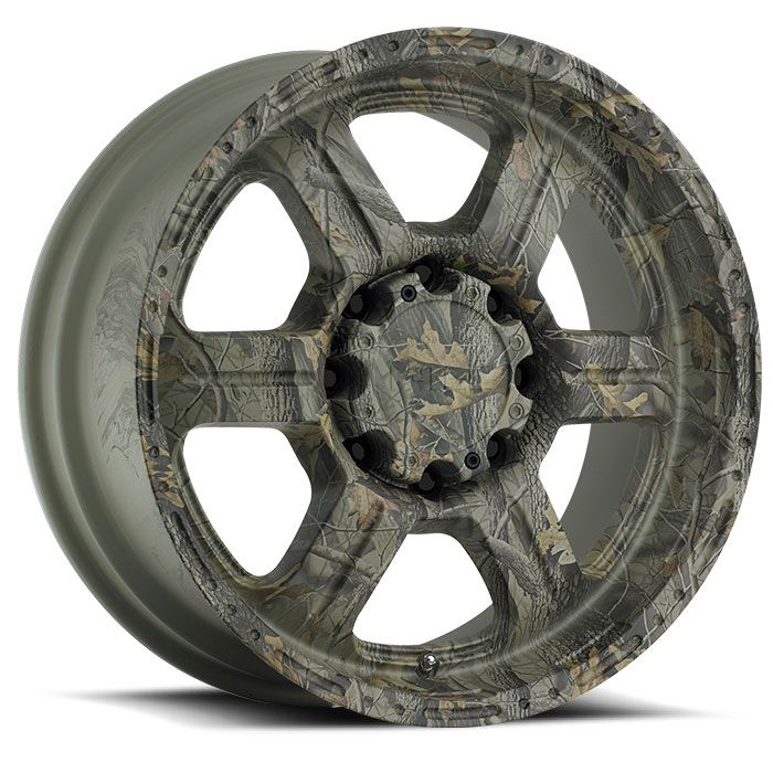 Realtree camo rims, I know a few fellas that would go for this