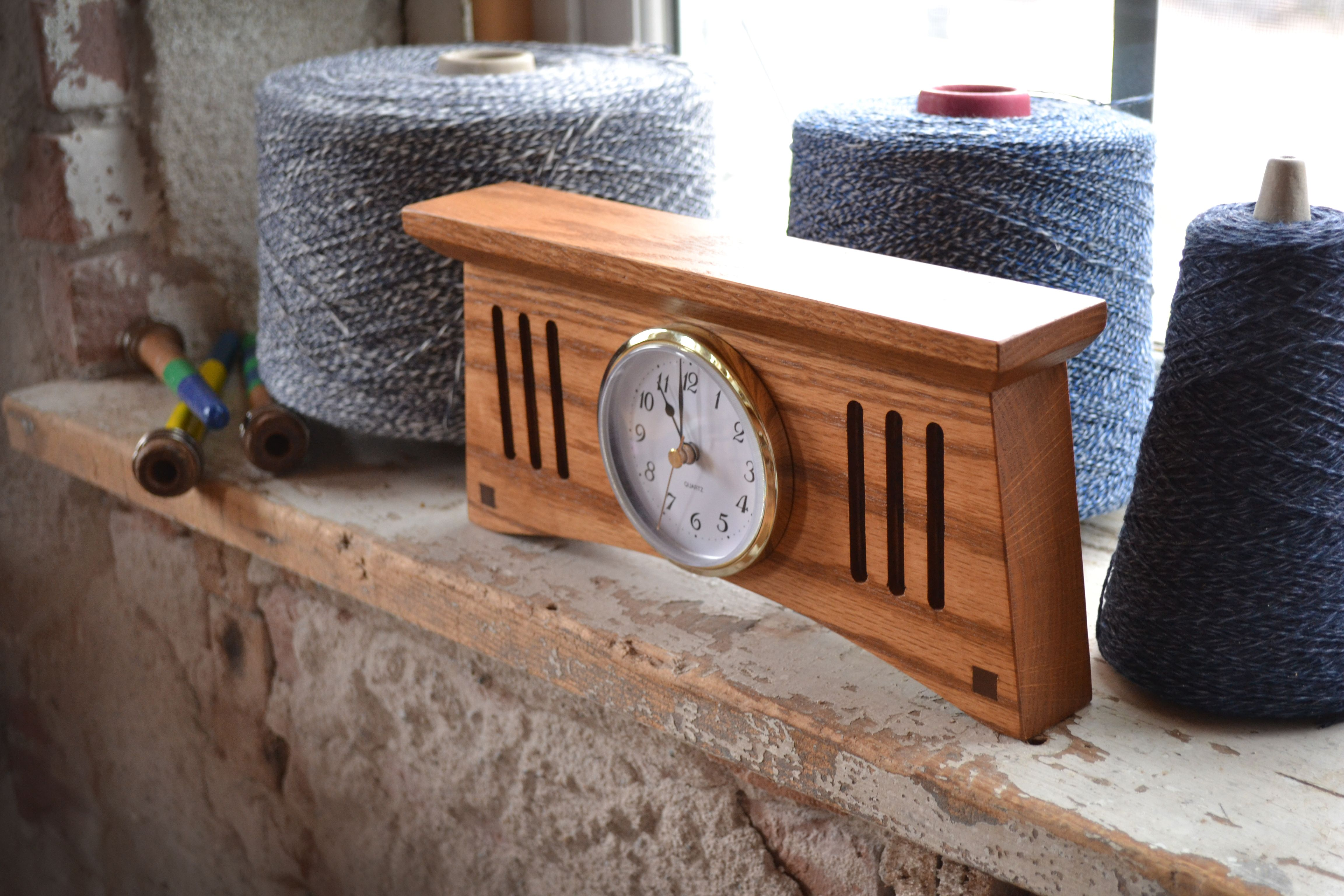 Amana Craftsman Desk Clock Craftsman Desks Desk Clock Craftsman