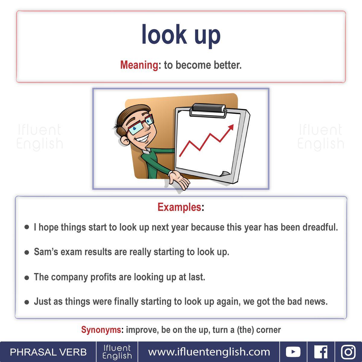 Useful Phrasal Verbs With Look