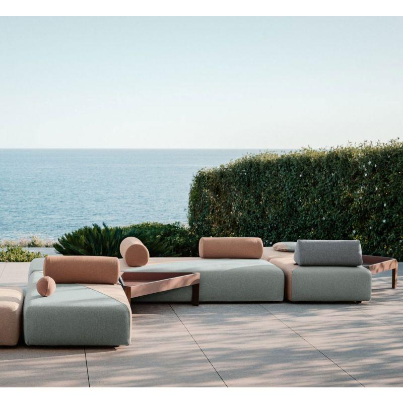 DEDON BRIXX Outdoor Loungegruppe, Gartensofa Loungemodule