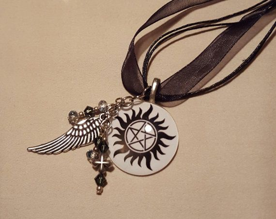 SPN Supernatural protection symbol by jubals on Etsy