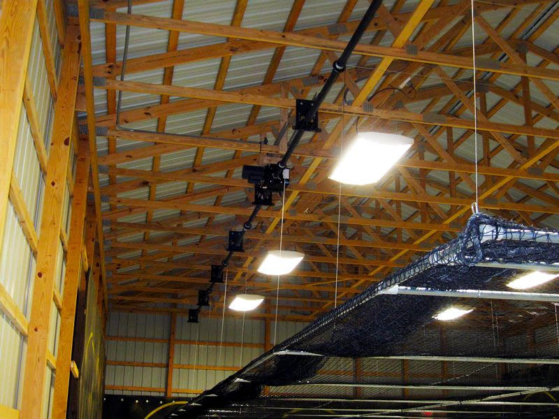 Got a Pole Barn? Need an AirCage? We can do that. Indoor