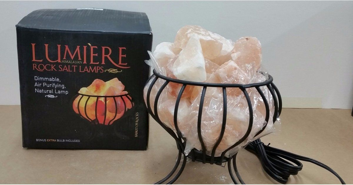Recalled Salt Lamps Unique 80000 Himalayan Rock Salt Lamps Have Been Recalled — Check Yours Decorating Inspiration