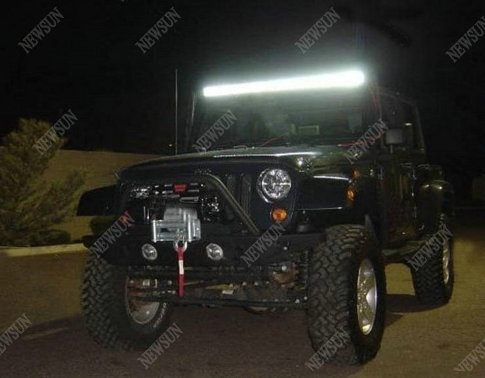 """280.00$  Watch now - http://aliktu.worldwells.pw/go.php?t=1313720390 - """"Lightstorm cree chip 50"""""""" off road led light bar,288W led driving light auto car accessory,offroad led light bar Cree chips"""" 280.00$"""