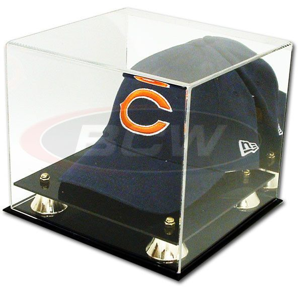 d3c1dd67ed9 Collectible Deluxe UV Acrylic Cap Baseball Hat Display Case - With Mirror  BCW http