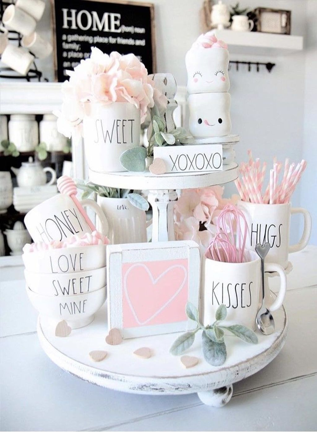 34 Stunning Valentine Kitchen Decor Ideas You Can Try - HOMEPIEZ