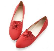 Lovely Comfortable Lady's Flats Red