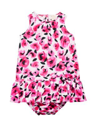 17c829654 babies' drop waist rose dress and bloomer set - Kate Spade New York ...