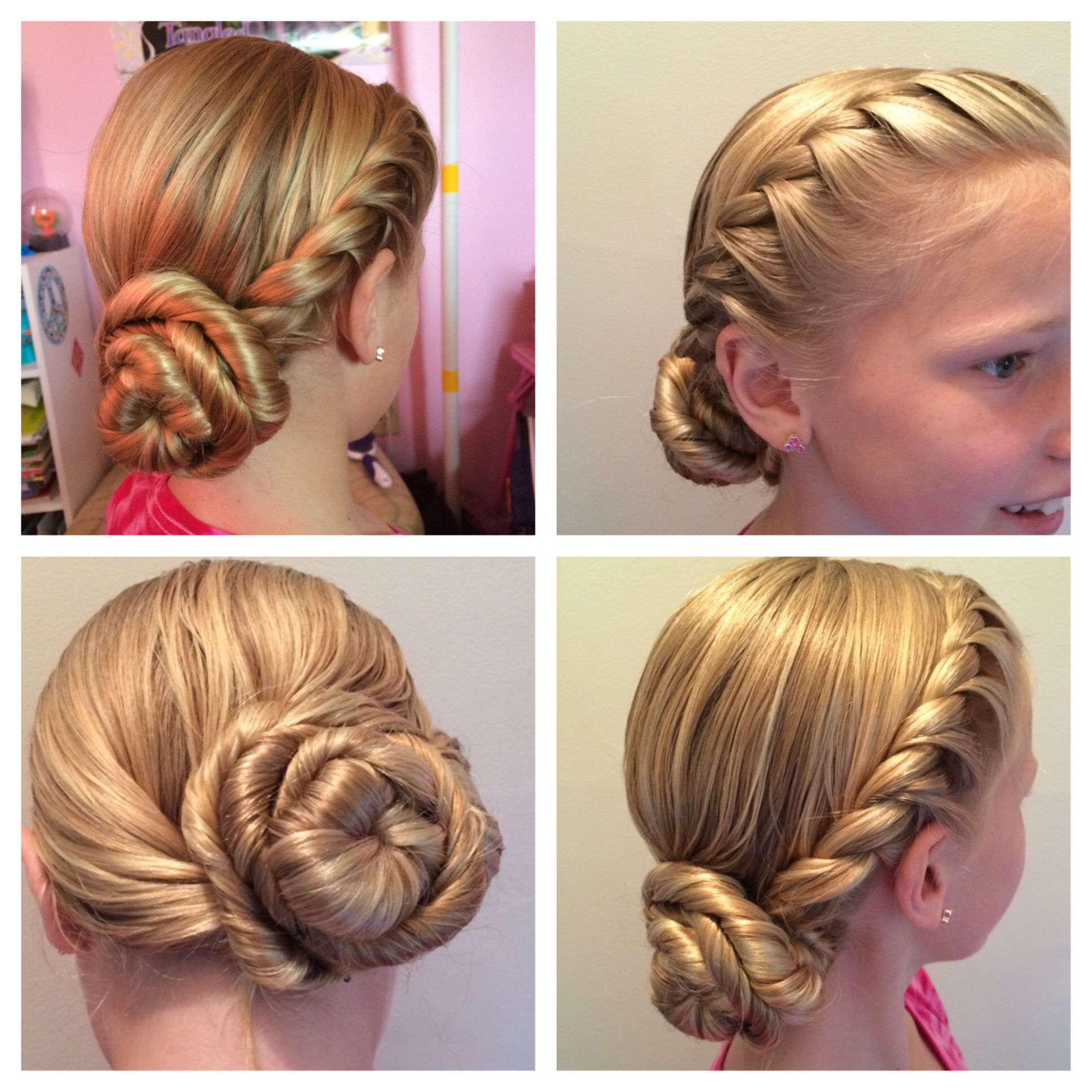Elsa S Coronation Hairstyle From The Movie Frozen Hair Styles Girl Hairstyles Frozen Hair