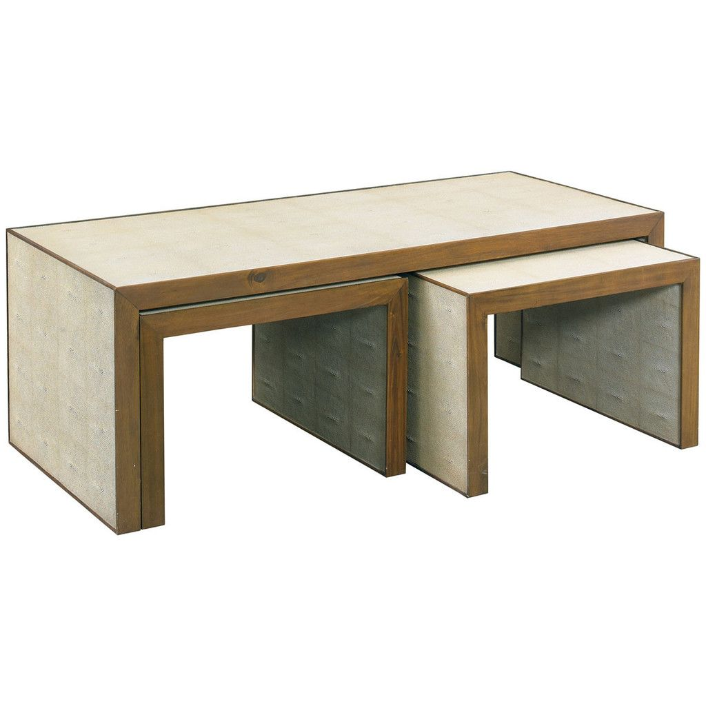 CTH Sherrill Occasional Zaine Nesting Cocktail Table