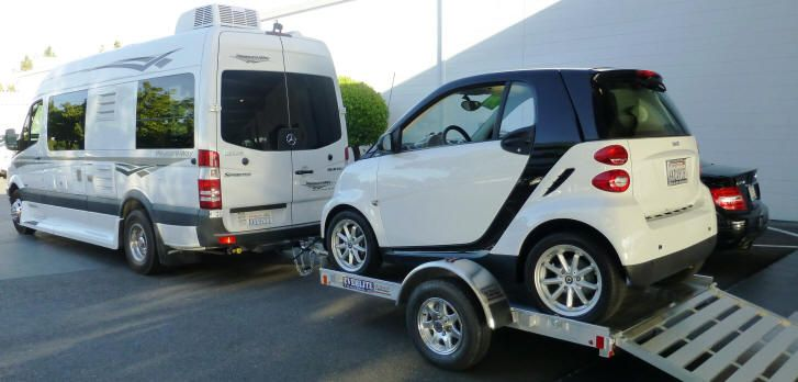 Smart Car Trailers Small Car Trailer And Utility Trailers Tow