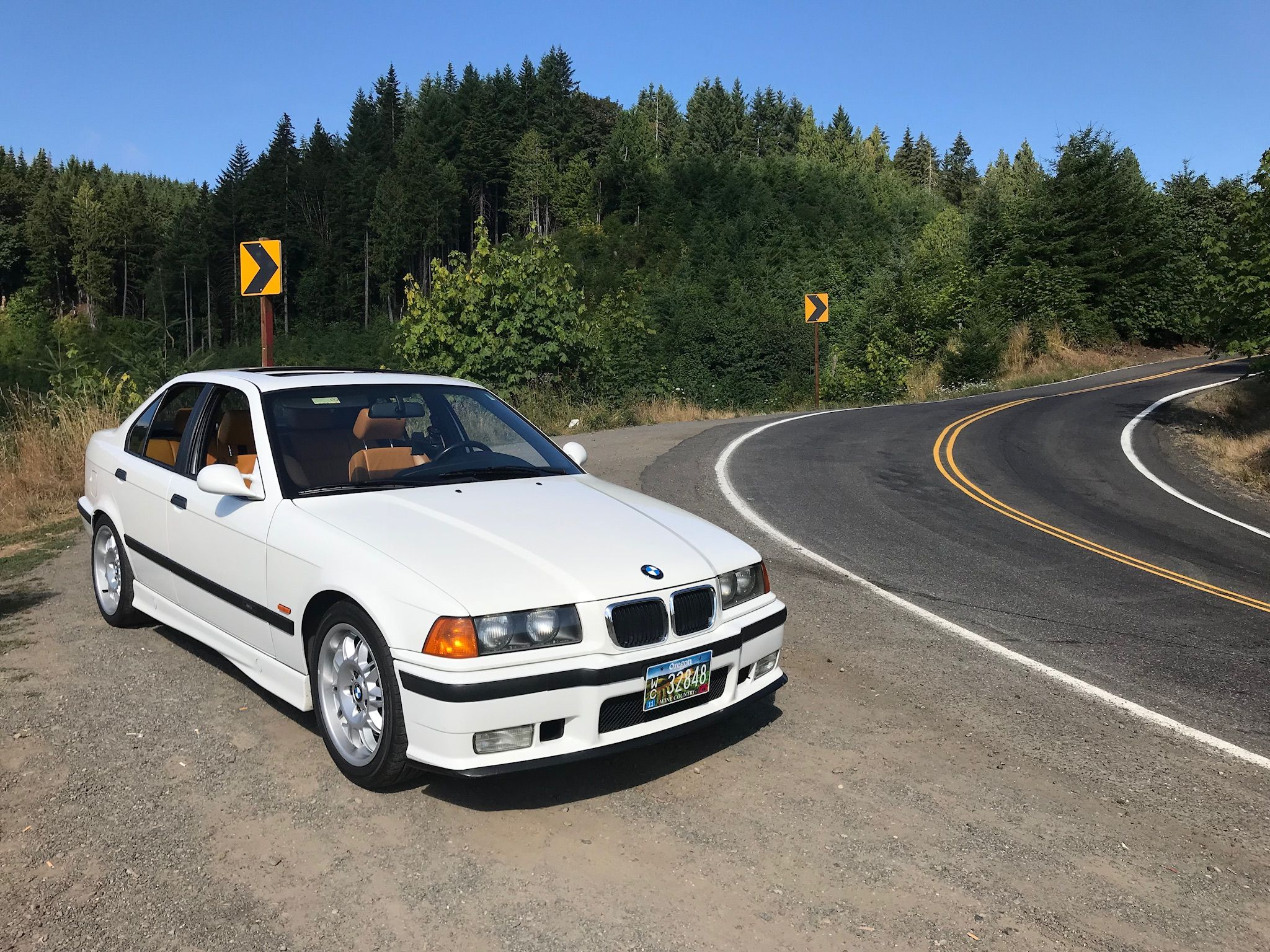 E36 M3 Alpine White With Modena Interior Avec Images Voiture