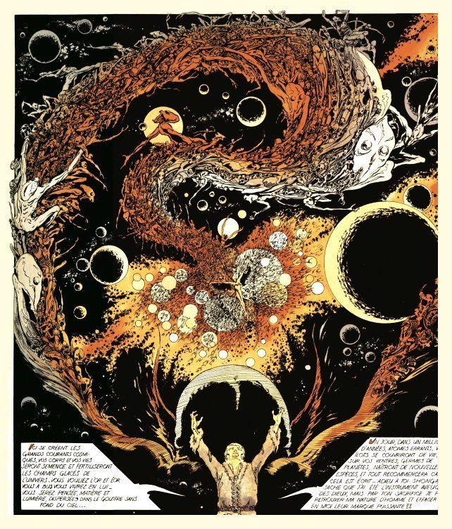 Science Fiction Graphic Novels: Lone Sloane Philippe Druillet