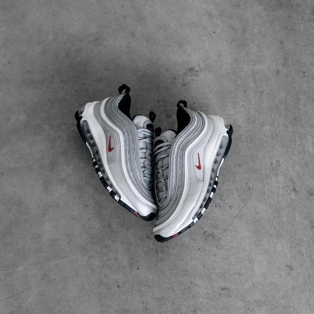 Restock !!! . Nike Air Max 97 Silver Bullet The model that