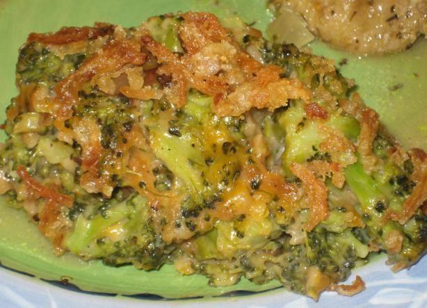 Campbell S Delicious Broccoli Casserole Recipe Yummy Sides Broccoli Casserole Broccoli