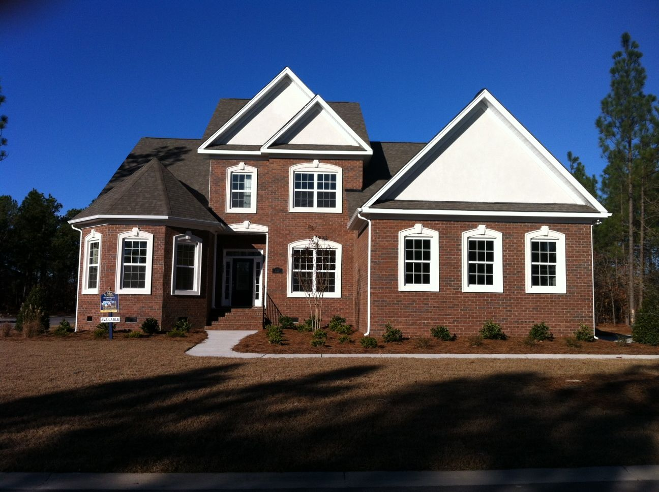 """The Peninsula is the only Gated Community in Lake Carolina. Here's the """"Sommerset Home"""" in The Peninsula."""